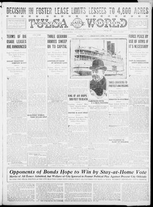 Primary view of object titled 'Tulsa Daily World (Tulsa, Okla.), Vol. 10, No. 230, Ed. 1 Friday, June 18, 1915'.