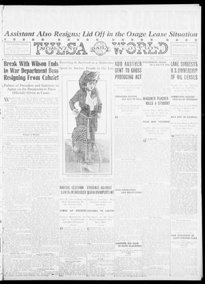 Primary view of object titled 'Tulsa Daily World (Tulsa, Okla.), Vol. 11, No. 126, Ed. 1 Friday, February 11, 1916'.