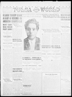 Primary view of object titled 'Tulsa Daily World (Tulsa, Okla.), Vol. 11, No. 130, Ed. 1 Wednesday, February 16, 1916'.