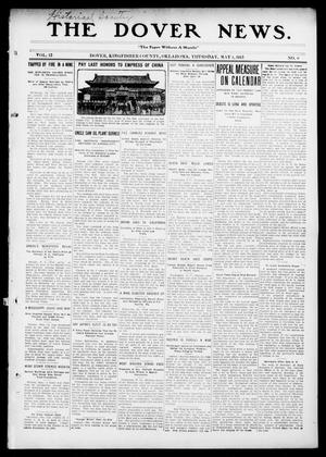Primary view of object titled 'The Dover News. (Dover, Okla.), Vol. 13, No. 8, Ed. 1 Thursday, May 1, 1913'.