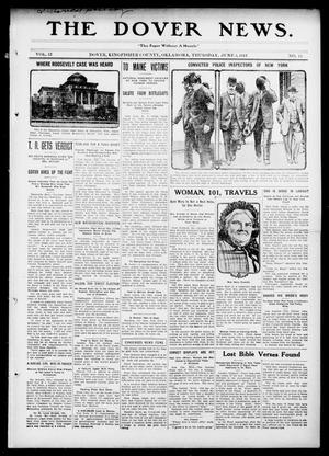 Primary view of object titled 'The Dover News. (Dover, Okla.), Vol. 13, No. 13, Ed. 1 Thursday, June 5, 1913'.