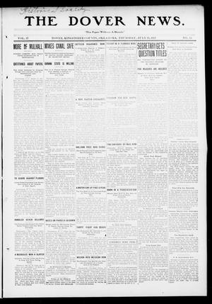 Primary view of object titled 'The Dover News. (Dover, Okla.), Vol. 13, No. 15, Ed. 1 Thursday, July 24, 1913'.