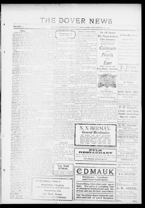 Primary view of object titled 'The Dover News (Dover, Okla.), Vol. 13, No. 22, Ed. 1 Thursday, September 11, 1913'.