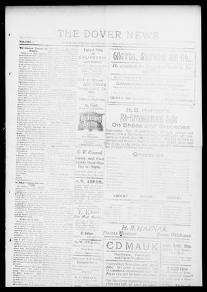 Primary view of object titled 'The Dover News (Dover, Okla.), Vol. 13, No. 34, Ed. 1 Thursday, December 4, 1913'.