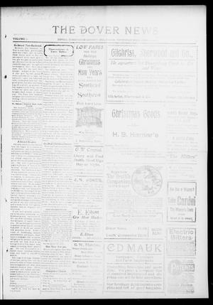 Primary view of object titled 'The Dover News (Dover, Okla.), Vol. 13, No. 35, Ed. 1 Thursday, December 11, 1913'.