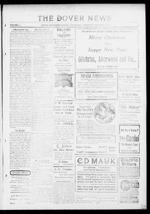 Primary view of object titled 'The Dover News (Dover, Okla.), Vol. 13, No. 37, Ed. 1 Thursday, December 25, 1913'.
