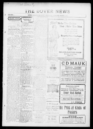 Primary view of object titled 'The Dover News (Dover, Okla.), Vol. 13, No. 47, Ed. 1 Thursday, March 5, 1914'.