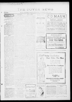 Primary view of object titled 'The Dover News (Dover, Okla.), Vol. 13, No. 52, Ed. 1 Thursday, April 9, 1914'.