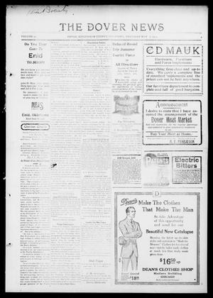 Primary view of object titled 'The Dover News (Dover, Okla.), Vol. 14, No. 4, Ed. 1 Thursday, May 7, 1914'.
