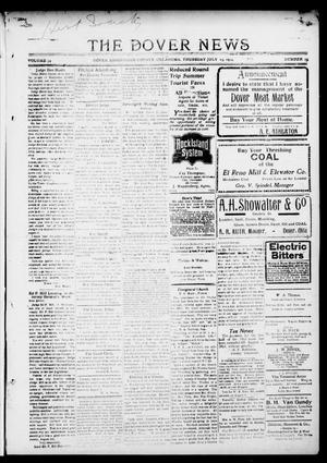 Primary view of object titled 'The Dover News (Dover, Okla.), Vol. 14, No. 15, Ed. 1 Thursday, July 23, 1914'.