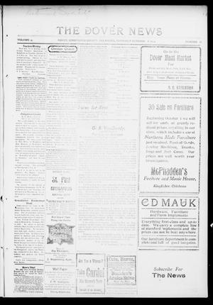Primary view of object titled 'The Dover News (Dover, Okla.), Vol. 14, No. 26, Ed. 1 Thursday, October 8, 1914'.