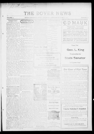 Primary view of object titled 'The Dover News (Dover, Okla.), Vol. 14, No. 28, Ed. 1 Thursday, October 22, 1914'.
