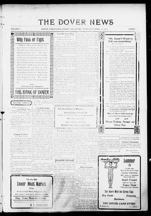 Primary view of object titled 'The Dover News (Dover, Okla.), Vol. 15, No. 2, Ed. 1 Thursday, April 22, 1915'.