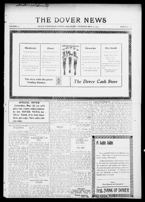 Primary view of object titled 'The Dover News (Dover, Okla.), Vol. 15, No. 6, Ed. 1 Thursday, May 20, 1915'.