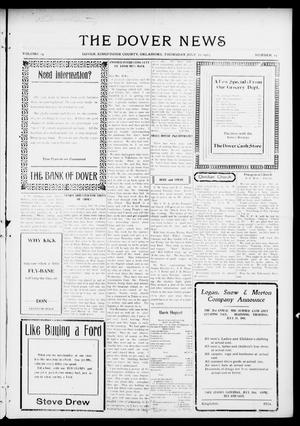 Primary view of object titled 'The Dover News (Dover, Okla.), Vol. 15, No. 15, Ed. 1 Thursday, July 22, 1915'.