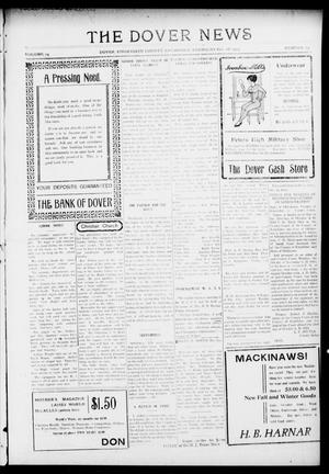 Primary view of object titled 'The Dover News (Dover, Okla.), Vol. 15, No. 29, Ed. 1 Thursday, October 28, 1915'.