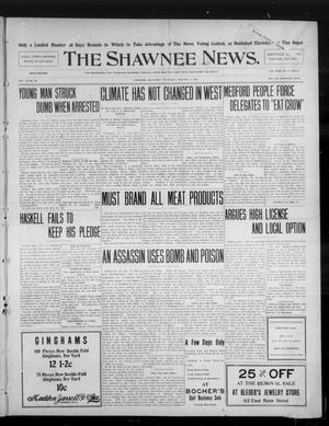 Primary view of object titled 'The Shawnee News. (Shawnee, Okla.), Vol. 10, No. 26, Ed. 1 Thursday, January 17, 1907'.