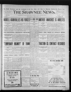 Primary view of object titled 'The Shawnee News. (Shawnee, Okla.), Vol. 10, No. 38, Ed. 1 Thursday, January 31, 1907'.