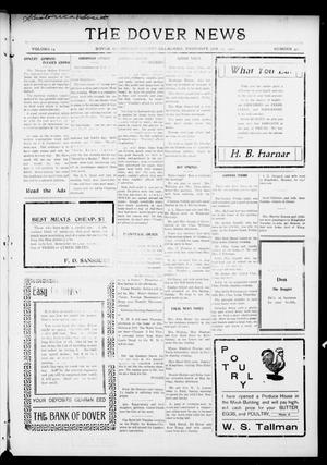 Primary view of object titled 'The Dover News (Dover, Okla.), Vol. 15, No. 42, Ed. 1 Thursday, January 27, 1916'.