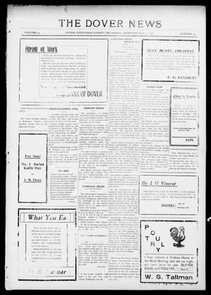 Primary view of object titled 'The Dover News (Dover, Okla.), Vol. 15, No. 43, Ed. 1 Thursday, February 3, 1916'.