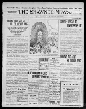 Primary view of object titled 'The Shawnee News. (Shawnee, Okla.), Vol. 10, No. 191, Ed. 1 Thursday, August 1, 1907'.