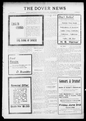 Primary view of object titled 'The Dover News (Dover, Okla.), Vol. 16, No. 8, Ed. 1 Thursday, June 1, 1916'.