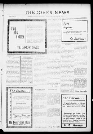 Primary view of object titled 'The Dover News (Dover, Okla.), Vol. 16, No. 9, Ed. 1 Thursday, June 8, 1916'.