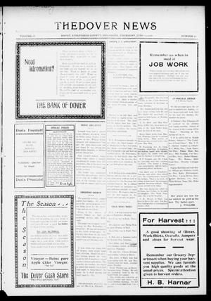 Primary view of object titled 'The Dover News (Dover, Okla.), Vol. 16, No. 10, Ed. 1 Thursday, June 15, 1916'.