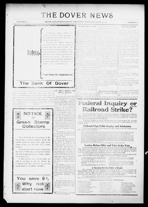 Primary view of object titled 'The Dover News (Dover, Okla.), Vol. 16, No. 13, Ed. 1 Thursday, July 6, 1916'.