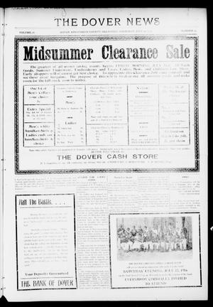 Primary view of object titled 'The Dover News (Dover, Okla.), Vol. 16, No. 15, Ed. 1 Thursday, July 20, 1916'.