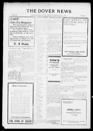 Primary view of object titled 'The Dover News (Dover, Okla.), Vol. 16, No. 17, Ed. 1 Thursday, August 3, 1916'.