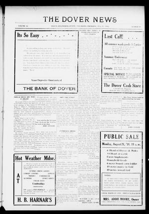 Primary view of object titled 'The Dover News (Dover, Okla.), Vol. 16, No. 19, Ed. 1 Thursday, August 17, 1916'.