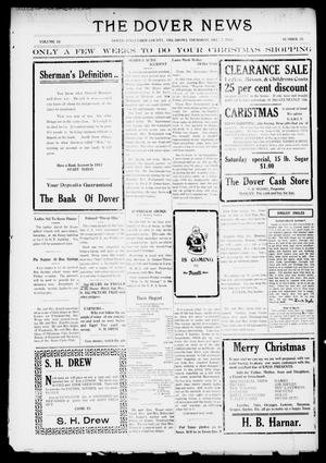 Primary view of object titled 'The Dover News (Dover, Okla.), Vol. 16, No. 35, Ed. 1 Thursday, December 7, 1916'.