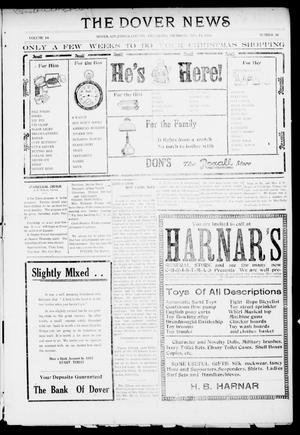 Primary view of object titled 'The Dover News (Dover, Okla.), Vol. 16, No. 36, Ed. 1 Thursday, December 14, 1916'.