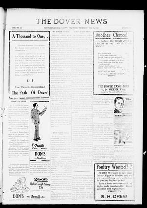 Primary view of object titled 'The Dover News (Dover, Okla.), Vol. 16, No. 42, Ed. 1 Thursday, January 25, 1917'.