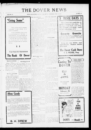 Primary view of object titled 'The Dover News (Dover, Okla.), Vol. 16, No. 46, Ed. 1 Thursday, February 22, 1917'.