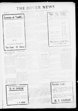 Primary view of object titled 'The Dover News (Dover, Okla.), Vol. 16, No. 48, Ed. 1 Thursday, March 8, 1917'.