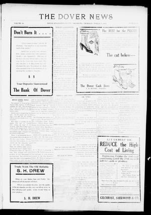 Primary view of object titled 'The Dover News (Dover, Okla.), Vol. 16, No. 49, Ed. 1 Thursday, March 15, 1917'.