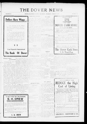 Primary view of object titled 'The Dover News (Dover, Okla.), Vol. 16, No. 50, Ed. 1 Thursday, March 22, 1917'.