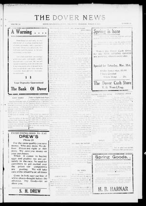 Primary view of object titled 'The Dover News (Dover, Okla.), Vol. 16, No. 51, Ed. 1 Thursday, March 29, 1917'.