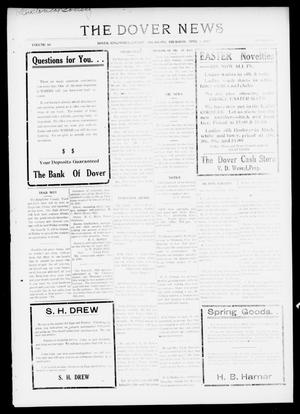 Primary view of object titled 'The Dover News (Dover, Okla.), Vol. 16, No. 52, Ed. 1 Thursday, April 5, 1917'.