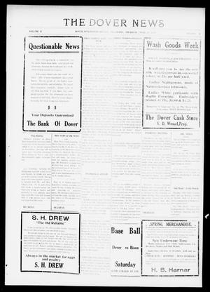 Primary view of object titled 'The Dover News (Dover, Okla.), Vol. 17, No. 3, Ed. 1 Thursday, April 26, 1917'.