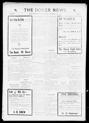 Primary view of object titled 'The Dover News (Dover, Okla.), Vol. 17, No. 4, Ed. 1 Thursday, May 3, 1917'.