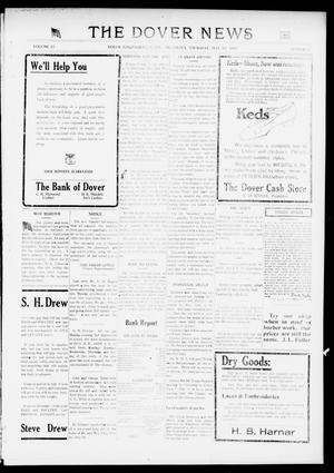 Primary view of object titled 'The Dover News (Dover, Okla.), Vol. 17, No. 6, Ed. 1 Thursday, May 17, 1917'.