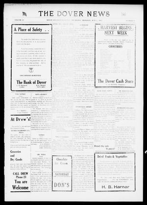 Primary view of object titled 'The Dover News (Dover, Okla.), Vol. 17, No. 9, Ed. 1 Thursday, June 7, 1917'.