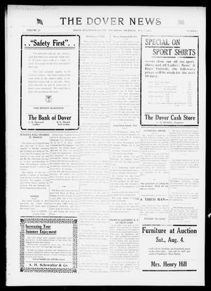 Primary view of object titled 'The Dover News (Dover, Okla.), Vol. 17, No. 7, Ed. 1 Thursday, August 2, 1917'.