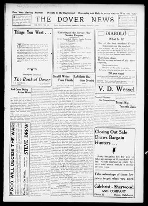 Primary view of object titled 'The Dover News (Dover, Okla.), Vol. 17, No. 38, Ed. 1 Thursday, January 31, 1918'.