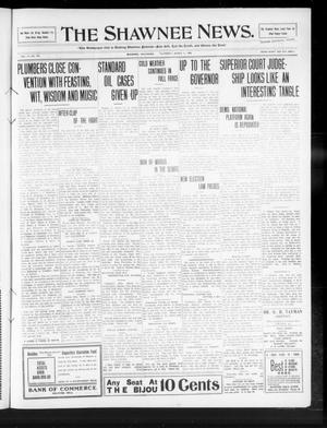 Primary view of object titled 'The Shawnee News. (Shawnee, Okla.), Vol. 14, No. 101, Ed. 1 Thursday, March 11, 1909'.