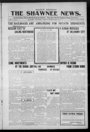 Primary view of object titled 'The Shawnee News. (Shawnee, Okla.), Vol. 5, No. 27, Ed. 1 Tuesday, May 16, 1905'.