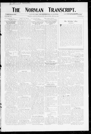 Primary view of object titled 'The Norman Transcript. (Norman, Okla.), Vol. 16, No. 30, Ed. 1 Thursday, May 25, 1905'.